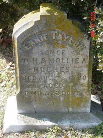 HUGHES, ERNIE TAYLOR - Talbot County, Maryland | ERNIE TAYLOR HUGHES - Maryland Gravestone Photos
