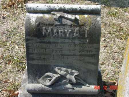 HUGHES, MARY A. - Talbot County, Maryland | MARY A. HUGHES - Maryland Gravestone Photos