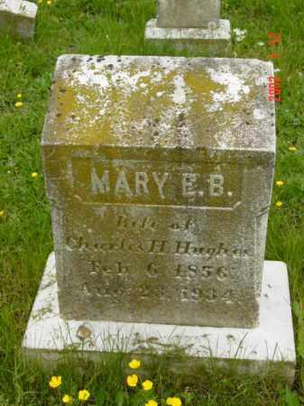 HUGHES, MARY E.B. - Talbot County, Maryland | MARY E.B. HUGHES - Maryland Gravestone Photos