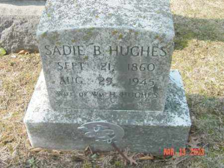 HUGHES, SADIE B. - Talbot County, Maryland | SADIE B. HUGHES - Maryland Gravestone Photos