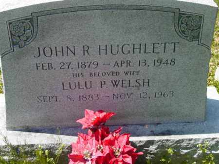 HUGHLETT, LULU P. - Talbot County, Maryland | LULU P. HUGHLETT - Maryland Gravestone Photos