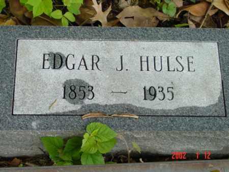 HULSE, EDGAR J. - Talbot County, Maryland | EDGAR J. HULSE - Maryland Gravestone Photos