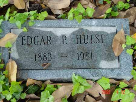 HULSE, EDGAR P. - Talbot County, Maryland | EDGAR P. HULSE - Maryland Gravestone Photos