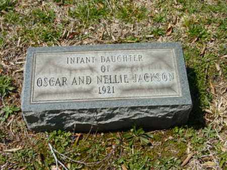 JACKSON, INFANT DAUGHTER - Talbot County, Maryland   INFANT DAUGHTER JACKSON - Maryland Gravestone Photos