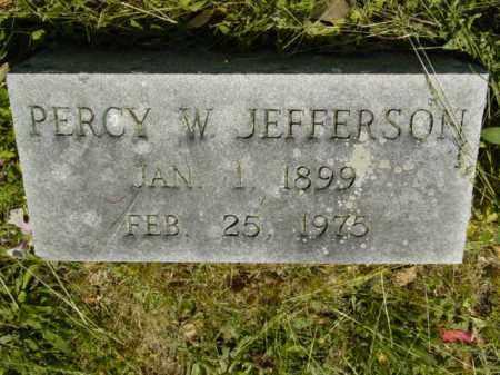 JEFFERSON, PERCY W. - Talbot County, Maryland   PERCY W. JEFFERSON - Maryland Gravestone Photos