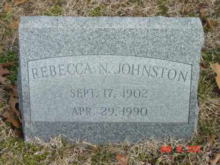 JOHNSTON, REBECCA N. - Talbot County, Maryland | REBECCA N. JOHNSTON - Maryland Gravestone Photos
