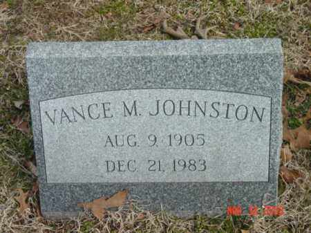 JOHNSTON, VANCE M. - Talbot County, Maryland | VANCE M. JOHNSTON - Maryland Gravestone Photos