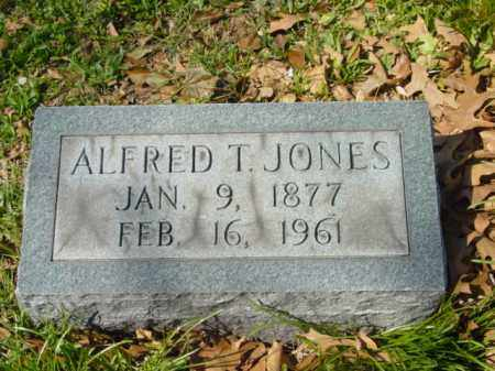 JONES, ALFRED T. - Talbot County, Maryland | ALFRED T. JONES - Maryland Gravestone Photos