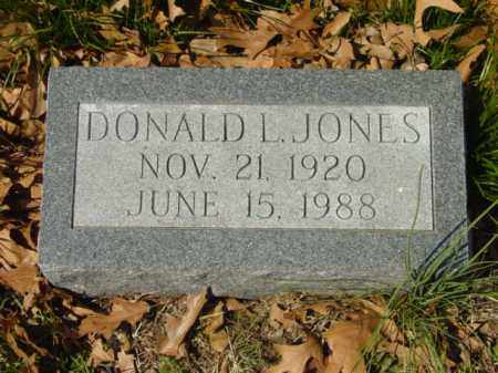JONES, DONALD L. - Talbot County, Maryland | DONALD L. JONES - Maryland Gravestone Photos