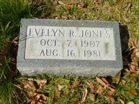 JONES, EVELYN R. - Talbot County, Maryland | EVELYN R. JONES - Maryland Gravestone Photos