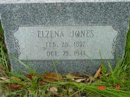 JONES, ELZENA - Talbot County, Maryland | ELZENA JONES - Maryland Gravestone Photos