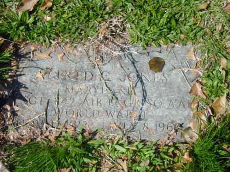 JONES, FRED C. - Talbot County, Maryland | FRED C. JONES - Maryland Gravestone Photos