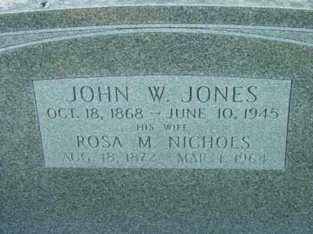 JONES, JOHN W. - Talbot County, Maryland | JOHN W. JONES - Maryland Gravestone Photos