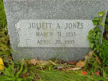 JONES, JULIETT A. - Talbot County, Maryland | JULIETT A. JONES - Maryland Gravestone Photos