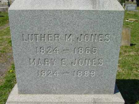 JONES, MARY E. - Talbot County, Maryland | MARY E. JONES - Maryland Gravestone Photos
