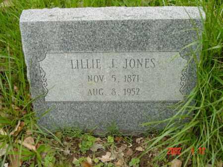 JONES, LILLIE J. - Talbot County, Maryland | LILLIE J. JONES - Maryland Gravestone Photos