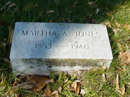 JONES, MARTHA A. - Talbot County, Maryland | MARTHA A. JONES - Maryland Gravestone Photos