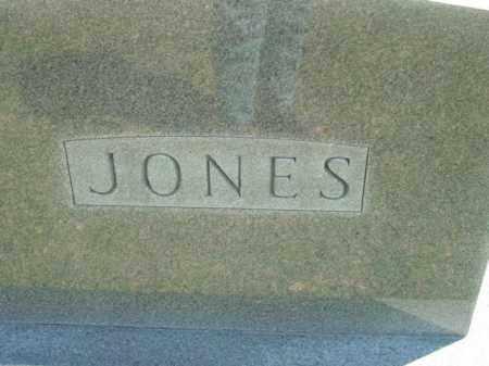JONES, MONUMENT - Talbot County, Maryland   MONUMENT JONES - Maryland Gravestone Photos