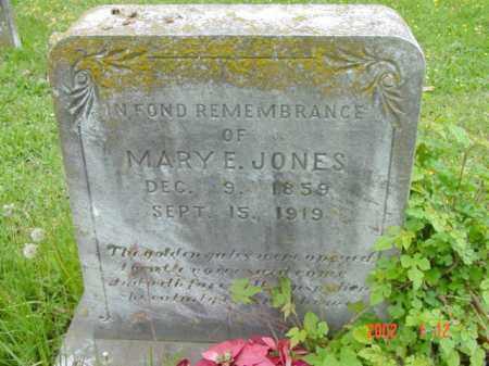 JONES, MARY E. - Talbot County, Maryland   MARY E. JONES - Maryland Gravestone Photos