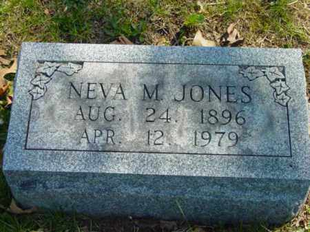 JONES, NEVA M. - Talbot County, Maryland   NEVA M. JONES - Maryland Gravestone Photos