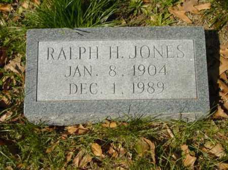 JONES, RALPH H. - Talbot County, Maryland   RALPH H. JONES - Maryland Gravestone Photos