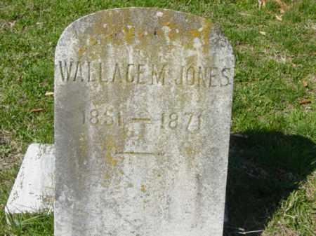 JONES, WALLACE M. - Talbot County, Maryland   WALLACE M. JONES - Maryland Gravestone Photos
