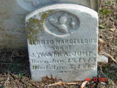 JUMP, ALONZO MARCELLOUS - Talbot County, Maryland | ALONZO MARCELLOUS JUMP - Maryland Gravestone Photos