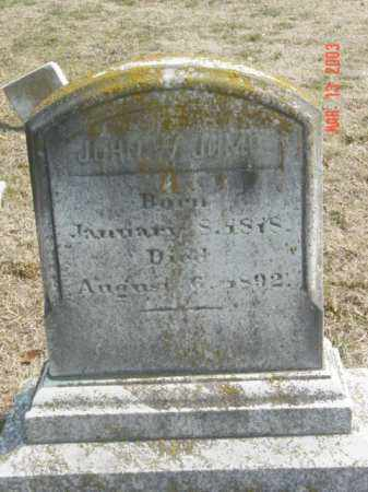 JUMP, JOHN W. - Talbot County, Maryland | JOHN W. JUMP - Maryland Gravestone Photos