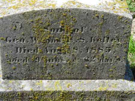 KELLEY, MONTGOMERY J. - Talbot County, Maryland   MONTGOMERY J. KELLEY - Maryland Gravestone Photos