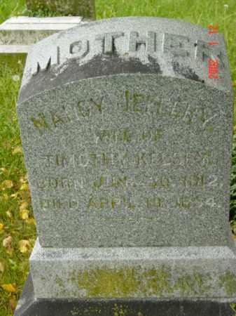JEFFERY KELSEY, NANCY - Talbot County, Maryland | NANCY JEFFERY KELSEY - Maryland Gravestone Photos