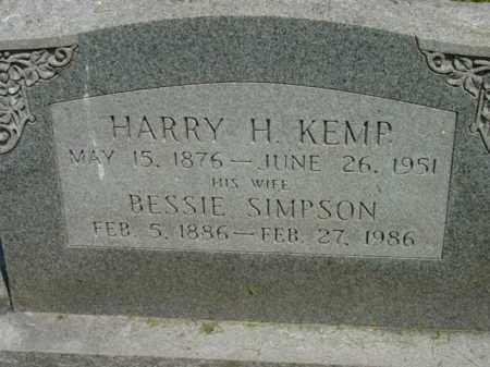 KEMP, BESSIE - Talbot County, Maryland | BESSIE KEMP - Maryland Gravestone Photos
