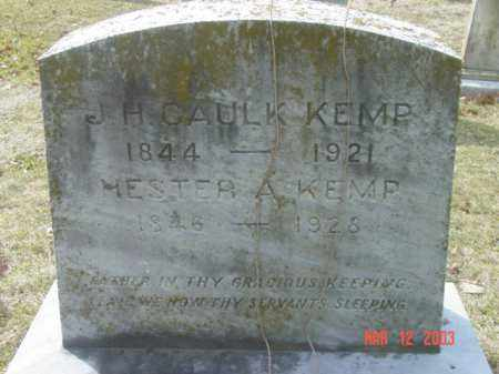 KEMP, J. H. CAULK - Talbot County, Maryland | J. H. CAULK KEMP - Maryland Gravestone Photos