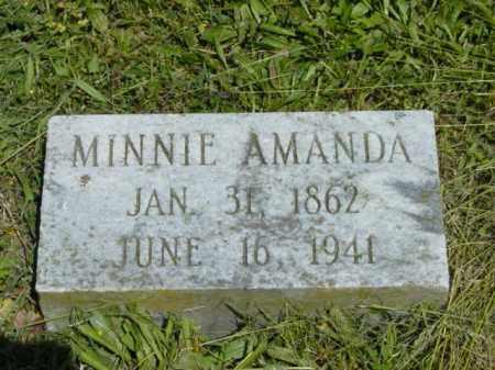 KEMP, MINNIE AMANDA - Talbot County, Maryland | MINNIE AMANDA KEMP - Maryland Gravestone Photos