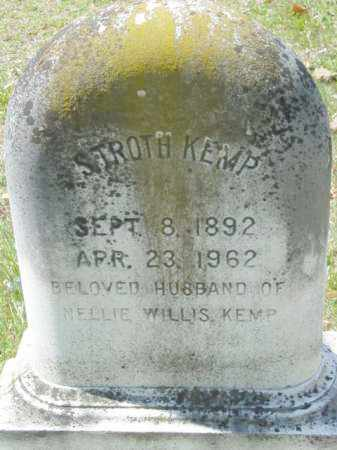 KEMP, T. STROTH - Talbot County, Maryland | T. STROTH KEMP - Maryland Gravestone Photos
