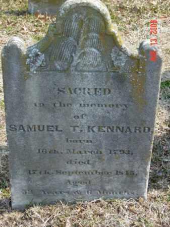 KENNARD, SAMUEL T. - Talbot County, Maryland   SAMUEL T. KENNARD - Maryland Gravestone Photos