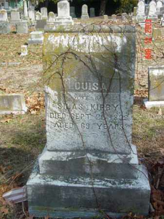 KIRBY, LOUISA - Talbot County, Maryland | LOUISA KIRBY - Maryland Gravestone Photos