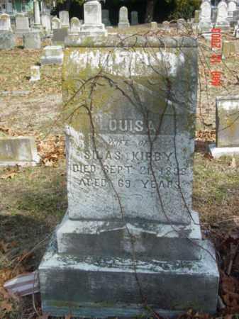 KIRBY, LOUISA - Talbot County, Maryland | LOUISA KIRBY - Maryland Gravestone Photos