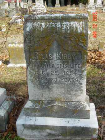 KIRBY, SILAS - Talbot County, Maryland | SILAS KIRBY - Maryland Gravestone Photos