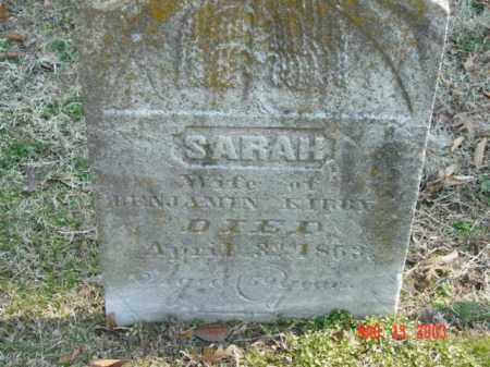 KIRBY, SARAH - Talbot County, Maryland | SARAH KIRBY - Maryland Gravestone Photos