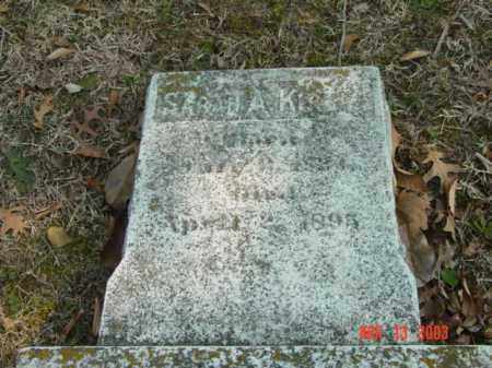 KIRBY, SARAH A. - Talbot County, Maryland | SARAH A. KIRBY - Maryland Gravestone Photos