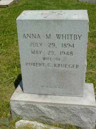 KRUEGER, ANNA M. - Talbot County, Maryland | ANNA M. KRUEGER - Maryland Gravestone Photos