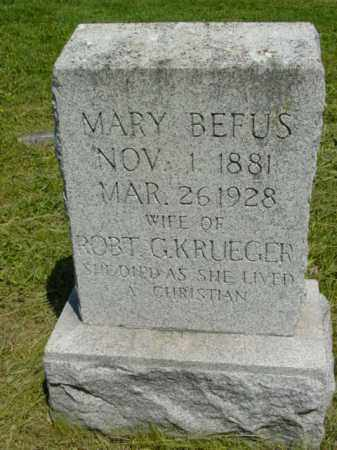 KRUEGER, MARY - Talbot County, Maryland | MARY KRUEGER - Maryland Gravestone Photos