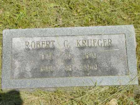 KRUEGER, ROBERT G. - Talbot County, Maryland | ROBERT G. KRUEGER - Maryland Gravestone Photos