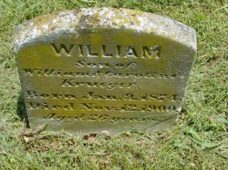 KRUEGER, WILLIAM - Talbot County, Maryland   WILLIAM KRUEGER - Maryland Gravestone Photos