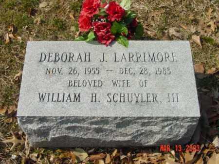 LARRIMORE, DEBORAH - Talbot County, Maryland   DEBORAH LARRIMORE - Maryland Gravestone Photos