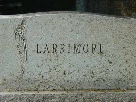 LARRIMORE, FAMILY STONE - Talbot County, Maryland | FAMILY STONE LARRIMORE - Maryland Gravestone Photos