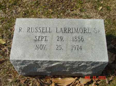 LARRIMORE, SR., R. RUSSELL - Talbot County, Maryland | R. RUSSELL LARRIMORE, SR. - Maryland Gravestone Photos
