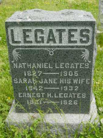 LEGATES, SARAH JANE - Talbot County, Maryland   SARAH JANE LEGATES - Maryland Gravestone Photos