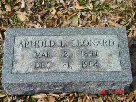 LEONARD, ARNOLD LECOMPTE - Talbot County, Maryland | ARNOLD LECOMPTE LEONARD - Maryland Gravestone Photos