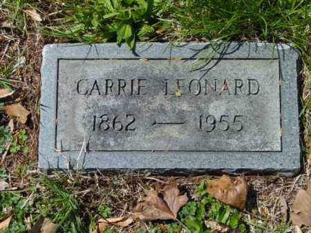 LEONARD, CARRIE - Talbot County, Maryland | CARRIE LEONARD - Maryland Gravestone Photos